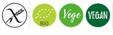 Sense gluten, bio, vegano i vegetarià